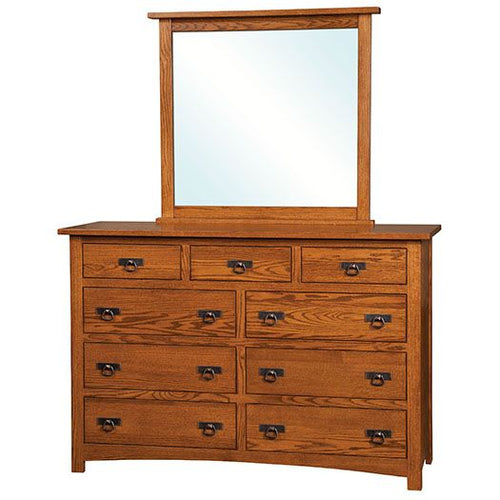 Amish USA Made Handcrafted Classic Mission Dressers sold by Online Amish Furniture LLC