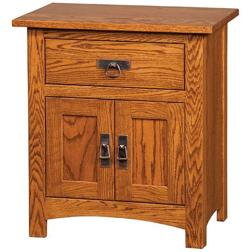 Amish USA Made Handcrafted Classic Mission Night Stand sold by Online Amish Furniture LLC