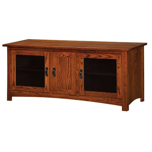 Amish USA Made Handcrafted Classic Mission Plasma TV Stands sold by Online Amish Furniture LLC