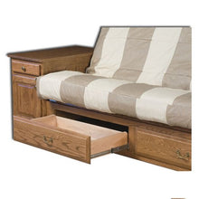 Load image into Gallery viewer, Amish USA Made Handcrafted Reliance Traditional Futon sold by Online Amish Furniture LLC