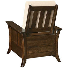 Load image into Gallery viewer, Amish USA Made Handcrafted Calendonia Recliner sold by Online Amish Furniture LLC