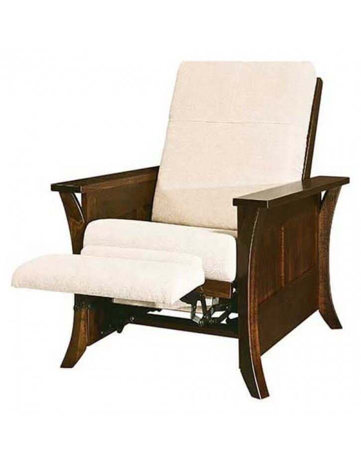 Amish USA Made Handcrafted Calendonia Recliner sold by Online Amish Furniture LLC