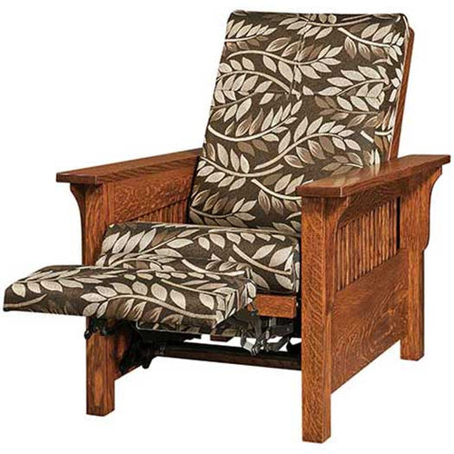 Amish USA Made Handcrafted Landmark Recliner sold by Online Amish Furniture LLC