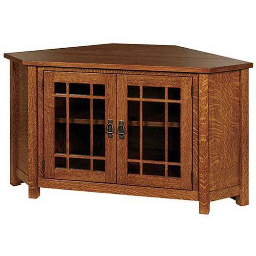 Amish USA Made Handcrafted Landmark Corner TV Cabinet sold by Online Amish Furniture LLC