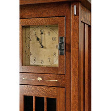 Load image into Gallery viewer, Amish USA Made Handcrafted Morgan Clock sold by Online Amish Furniture LLC