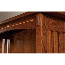 Load image into Gallery viewer, Amish USA Made Handcrafted Mesa Open Bookcase sold by Online Amish Furniture LLC