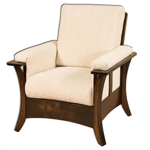 Amish USA Made Handcrafted Caledonia Chair sold by Online Amish Furniture LLC