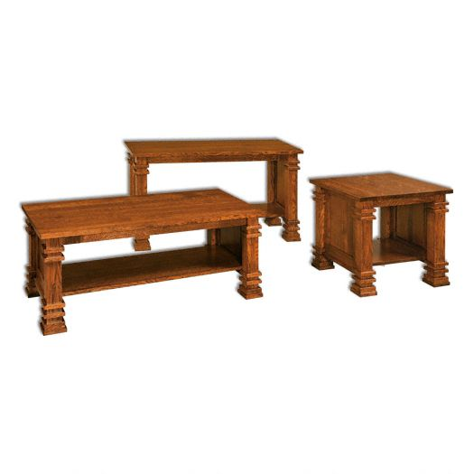Amish USA Made Handcrafted Diamond Occasional Tables sold by Online Amish Furniture LLC