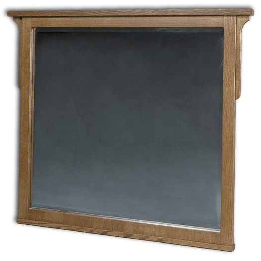 Amish USA Made Handcrafted Millcreek Mission Dresser Mirror sold by Online Amish Furniture LLC
