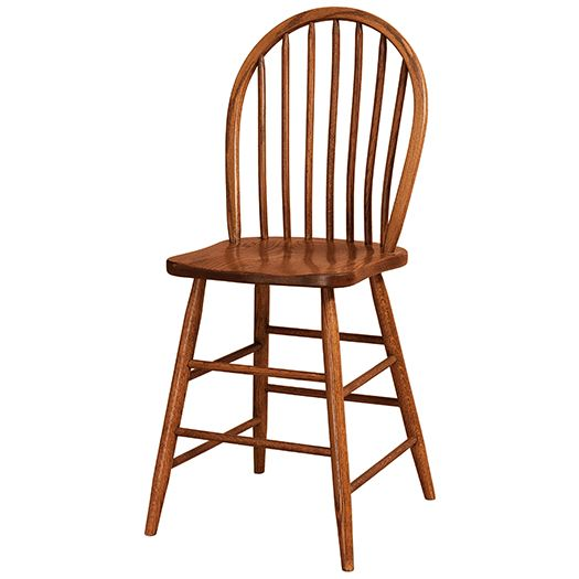 Amish USA Made Handcrafted Econo Bar Stool sold by Online Amish Furniture LLC