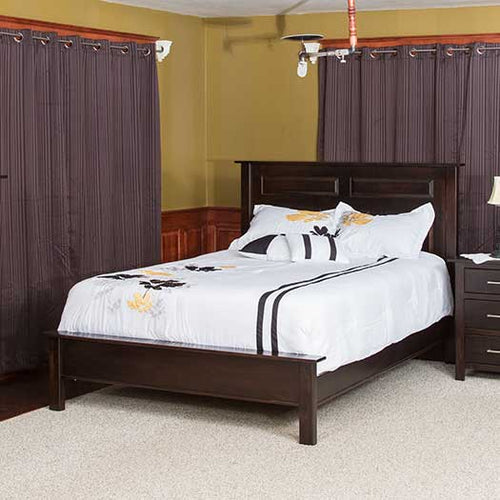 Amish USA Made Handcrafted Econo Bed sold by Online Amish Furniture LLC