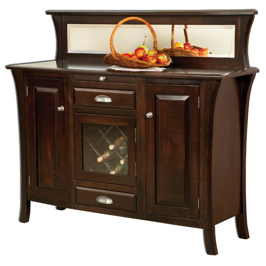 Amish USA Made Handcrafted Ensenada Sideboard sold by Online Amish Furniture LLC