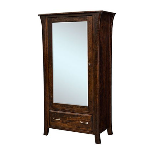 Amish USA Made Handcrafted Ensenada Armoire sold by Online Amish Furniture LLC