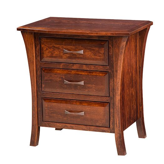 Amish USA Made Handcrafted Ensenada Night Stand sold by Online Amish Furniture LLC