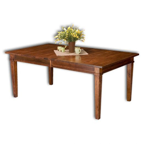 Amish USA Made Handcrafted Ethan Leg Table sold by Online Amish Furniture LLC