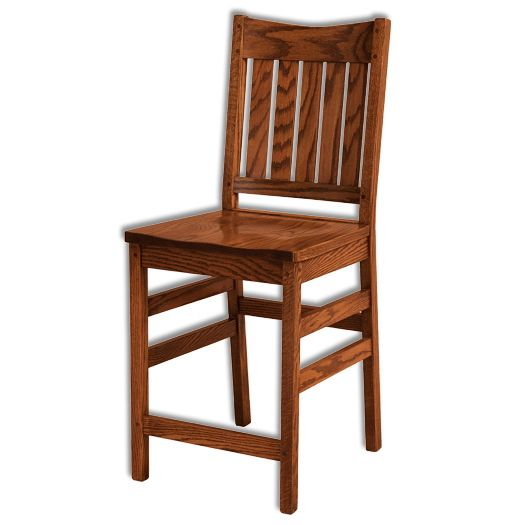 Amish USA Made Handcrafted Colbran Bar Stool sold by Online Amish Furniture LLC