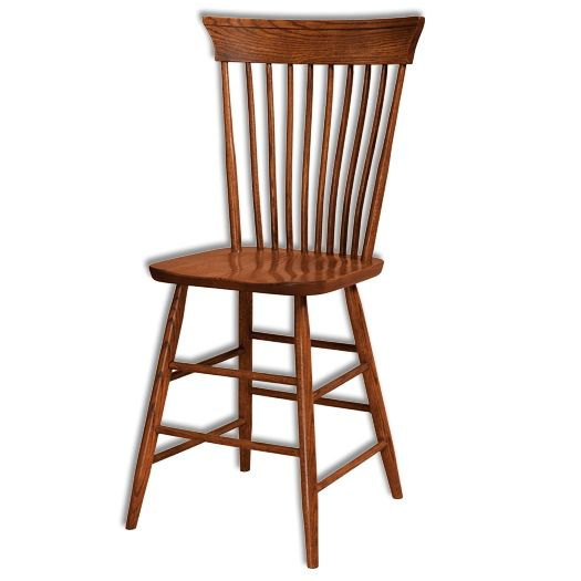 Amish USA Made Handcrafted Concord Bar Stool sold by Online Amish Furniture LLC