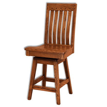 Load image into Gallery viewer, Amish USA Made Handcrafted Fresno Shaker Bar Stool sold by Online Amish Furniture LLC