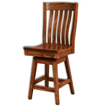 Load image into Gallery viewer, Amish USA Made Handcrafted Houghton Bar Stool sold by Online Amish Furniture LLC