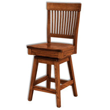 Load image into Gallery viewer, Amish USA Made Handcrafted Jefferson Bar Stool sold by Online Amish Furniture LLC