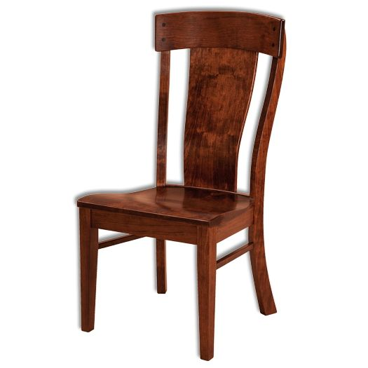 Amish USA Made Handcrafted Lacombe Chair sold by Online Amish Furniture LLC