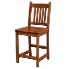 Load image into Gallery viewer, Amish USA Made Handcrafted Logan Bar Stool sold by Online Amish Furniture LLC