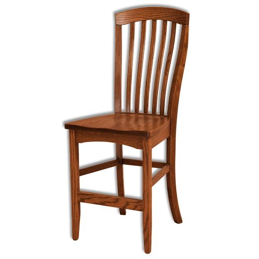 Amish USA Made Handcrafted Malibu Bar Stool sold by Online Amish Furniture LLC