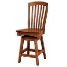 Load image into Gallery viewer, Amish USA Made Handcrafted Malibu Bar Stool sold by Online Amish Furniture LLC