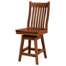 Load image into Gallery viewer, Amish USA Made Handcrafted Wabash Bar Stool sold by Online Amish Furniture LLC