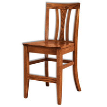 Load image into Gallery viewer, Amish USA Made Handcrafted Waldron Bar Stool sold by Online Amish Furniture LLC