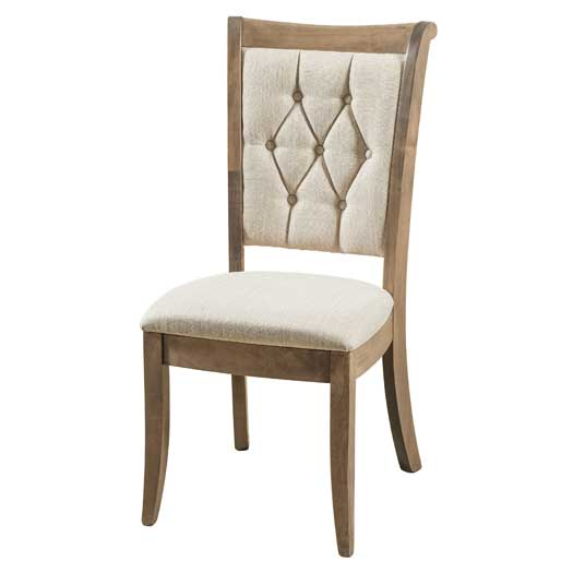 Amish USA Made Handcrafted Chelsea Chair sold by Online Amish Furniture LLC