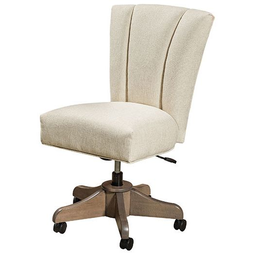 Amish USA Made Handcrafted Mynda Desk Chair sold by Online Amish Furniture LLC