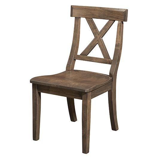 Amish USA Made Handcrafted Vornado Chair sold by Online Amish Furniture LLC