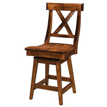 Load image into Gallery viewer, Amish USA Made Handcrafted Vornado Bar Stool sold by Online Amish Furniture LLC