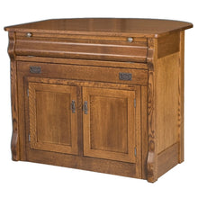Load image into Gallery viewer, Amish USA Made Handcrafted Hampton Frontier Buffet Island sold by Online Amish Furniture LLC