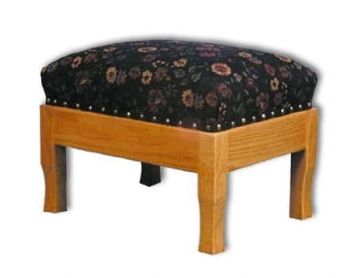 Amish USA Made Handcrafted Rocker Footstool sold by Online Amish Furniture LLC