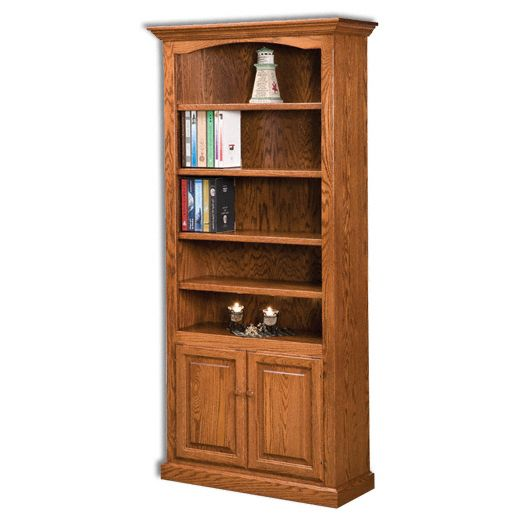 Amish USA Made Handcrafted Hoosier Heritage Bookcases sold by Online Amish Furniture LLC