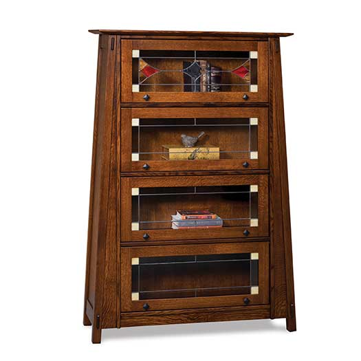Amish USA Made Handcrafted Colbran Barrister Bookcase sold by Online Amish Furniture LLC