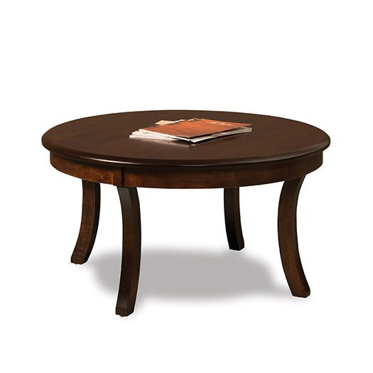 Sierra Round Solid Top Coffee Table