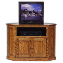 Load image into Gallery viewer, Amish USA Made Handcrafted Classic Corner Media Console sold by Online Amish Furniture LLC