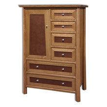 Load image into Gallery viewer, Amish USA Made Handcrafted Vancoover Door Chest sold by Online Amish Furniture LLC