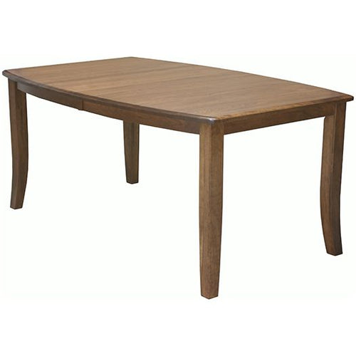 Amish USA Made Handcrafted Gallery Leg Table sold by Online Amish Furniture LLC