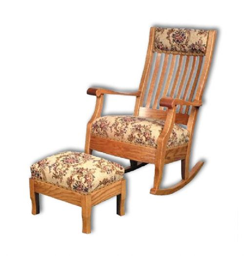 Amish USA Made Handcrafted Grandma's Rocker sold by Online Amish Furniture LLC