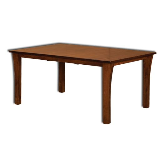 Amish USA Made Handcrafted Grant Leg Table NW sold by Online Amish Furniture LLC