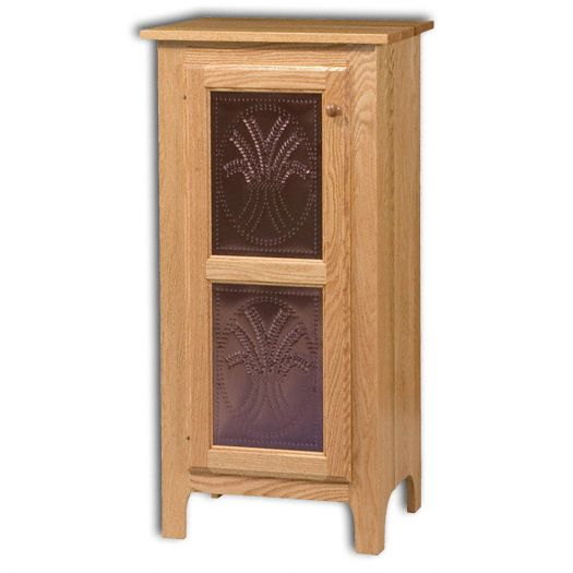 Amish USA Made Handcrafted Classic 1 Door Pie Safe Jelly Cupboard sold by Online Amish Furniture LLC