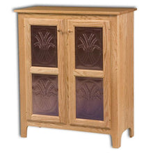 Load image into Gallery viewer, Amish USA Made Handcrafted Classic 2 Door Pie Safe Jelly Cupboard sold by Online Amish Furniture LLC