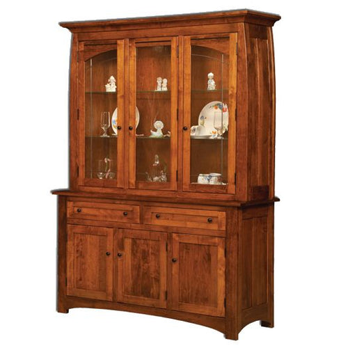 Amish USA Made Handcrafted Henderson Hutch sold by Online Amish Furniture LLC
