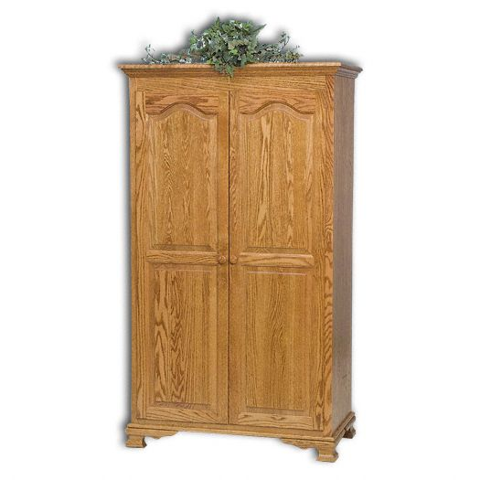 Amish USA Made Handcrafted Heritage Wardrobe sold by Online Amish Furniture LLC