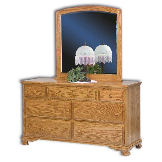 Amish USA Made Handcrafted Heritage Dresser sold by Online Amish Furniture LLC