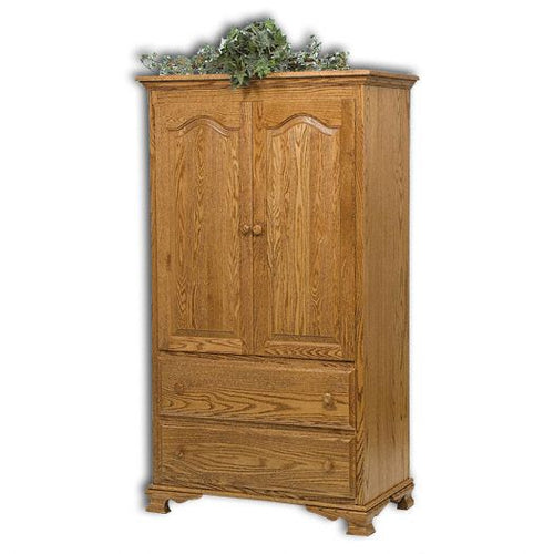 Amish USA Made Handcrafted Heritage 1pc Armoire sold by Online Amish Furniture LLC
